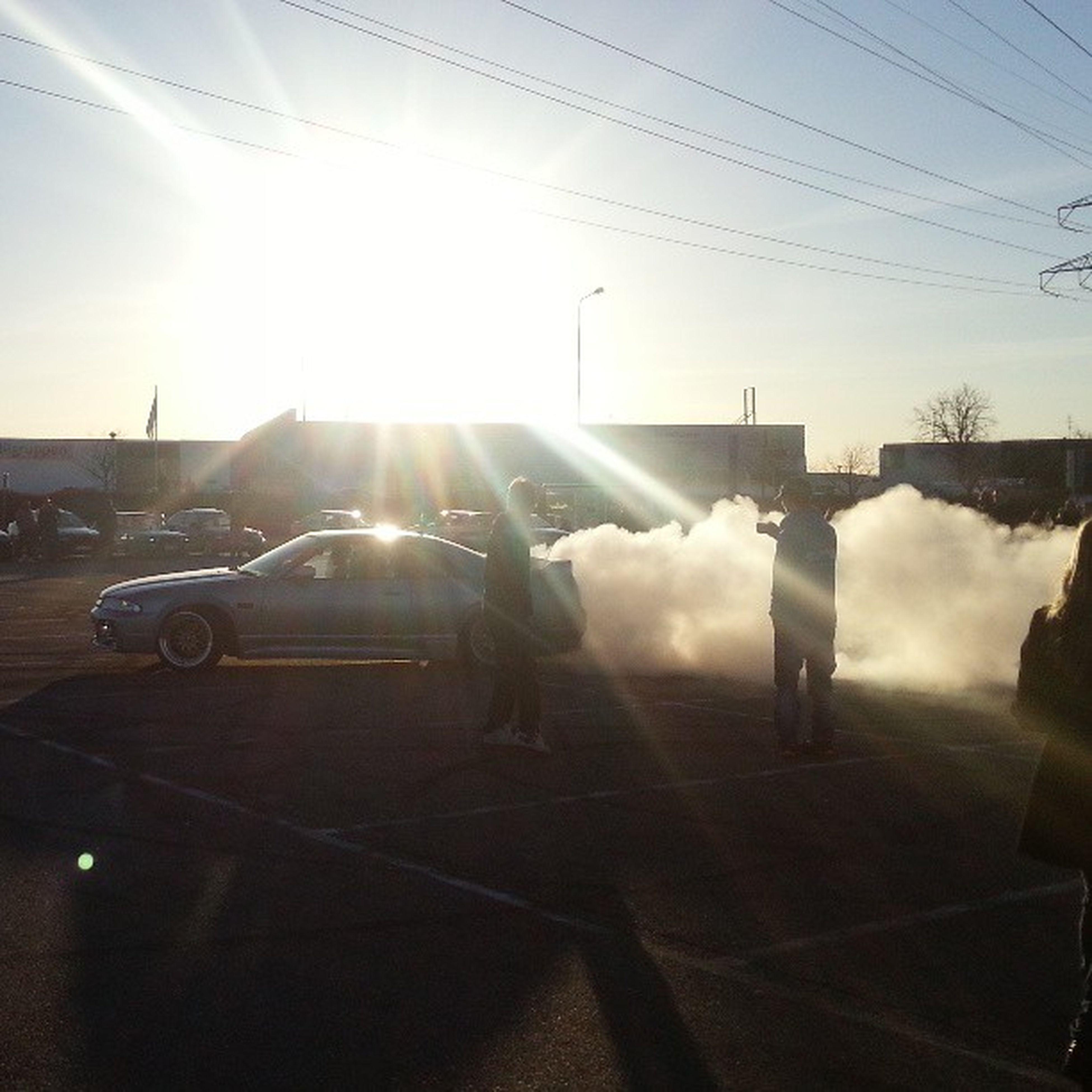 My friend did some drift the last day :) Nissan Skyline Novalund 2013 springbreak