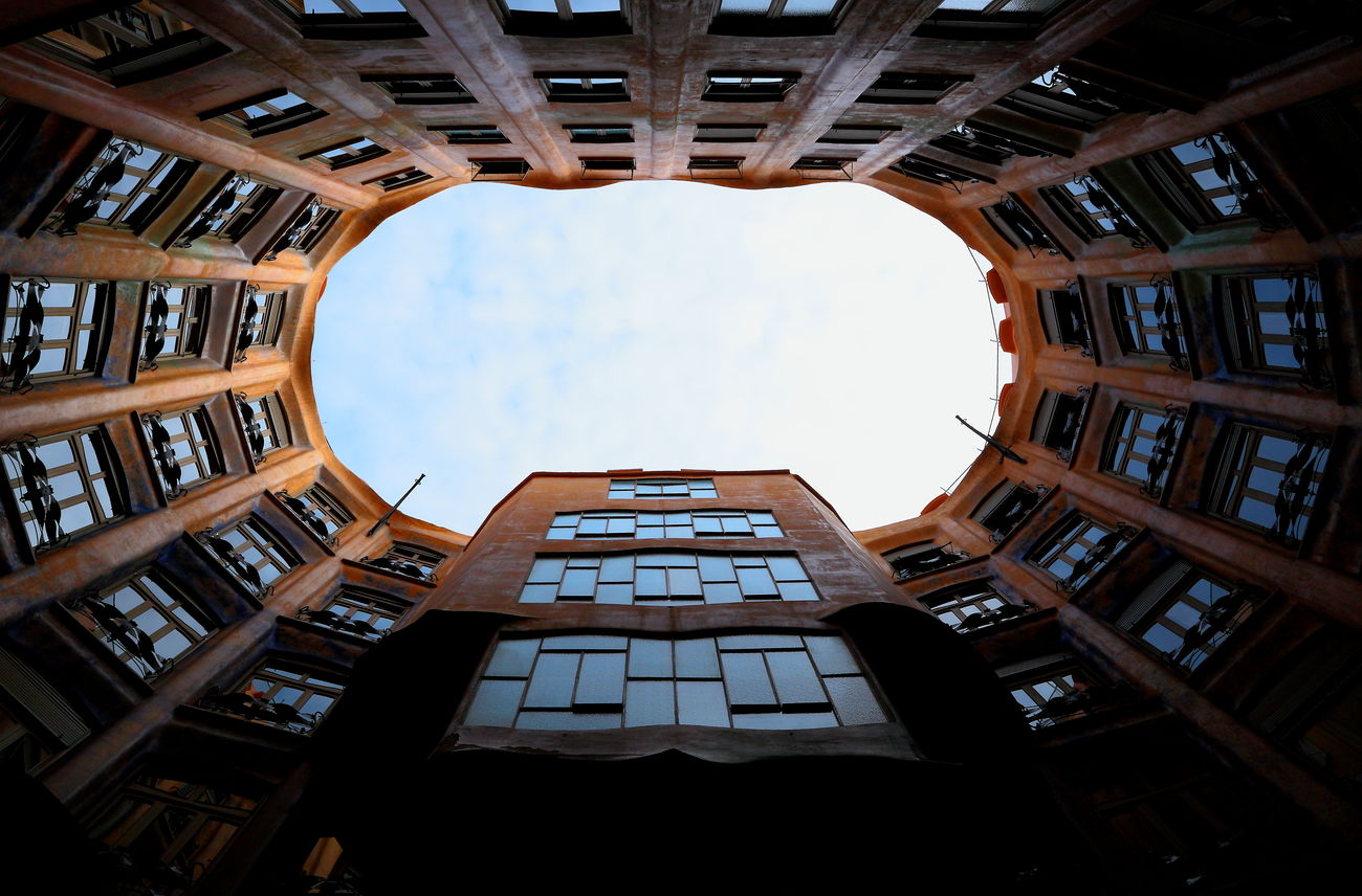 Architecture Barcelona Building Exterior Building Story Built Structure Canon City Day Gaudi Holliday No People Outdoors Sky SPAIN Tower