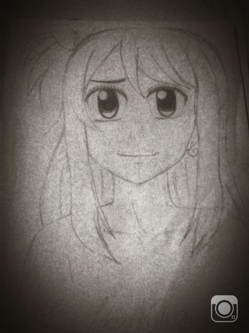 My Draw ♥ Lucy Heartifilla Fairy Tail <3