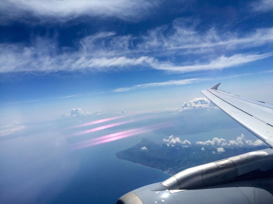 Beautiful stock photos of flugzeug, Air Vehicle, Aircraft Wing, Airplane, Beauty In Nature