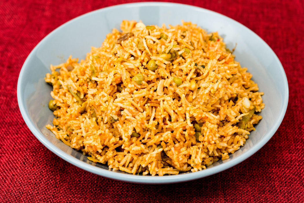Dinner Lunch Rice Basmati Delicious Eating Healthy Food Indian Food