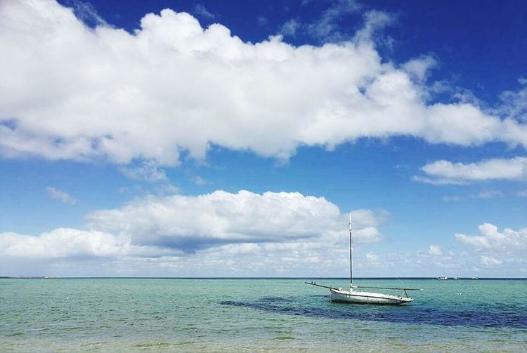 Nautical Vessel Cloud - Sky Horizon Over Water Outdoors