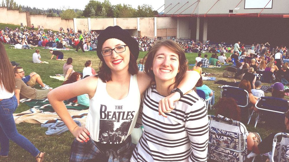 The Fray / Train concert with my best friend. Had to fit one more in before she leaves for college. Going Away