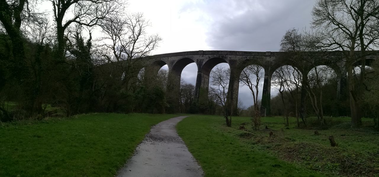 Porthkerry park Barry Arch Grass Tree Nature Travel Destinations Cloud - Sky Outdoors Sky Bridge - Man Made Structure History No People Architecture Day Beauty In Nature