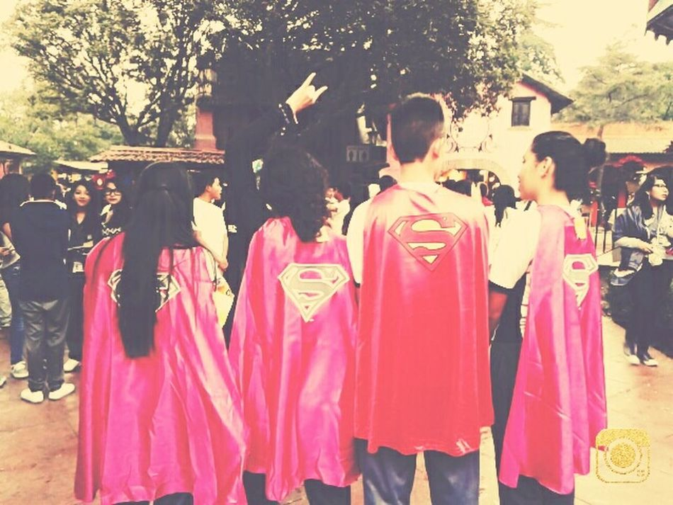 Superman Friends Capa Six Flags Mexico First Eyeem Photo