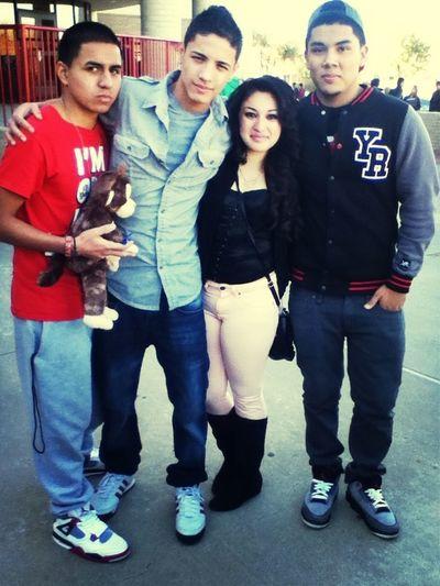 Loving my crew  