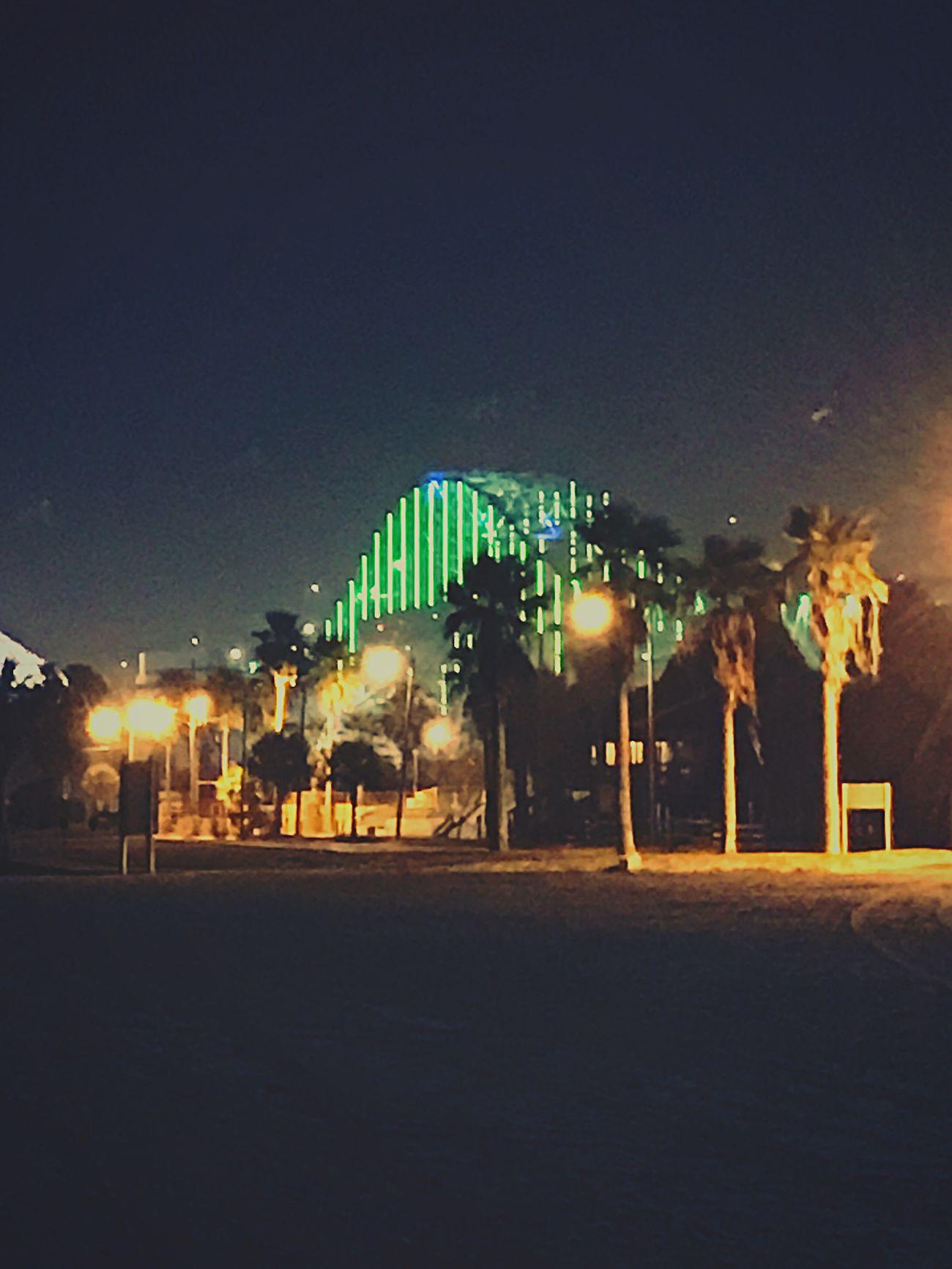 Nice. Illuminated Night Architecture No People Beach EyeEmNewInHere EyeEmNewHere