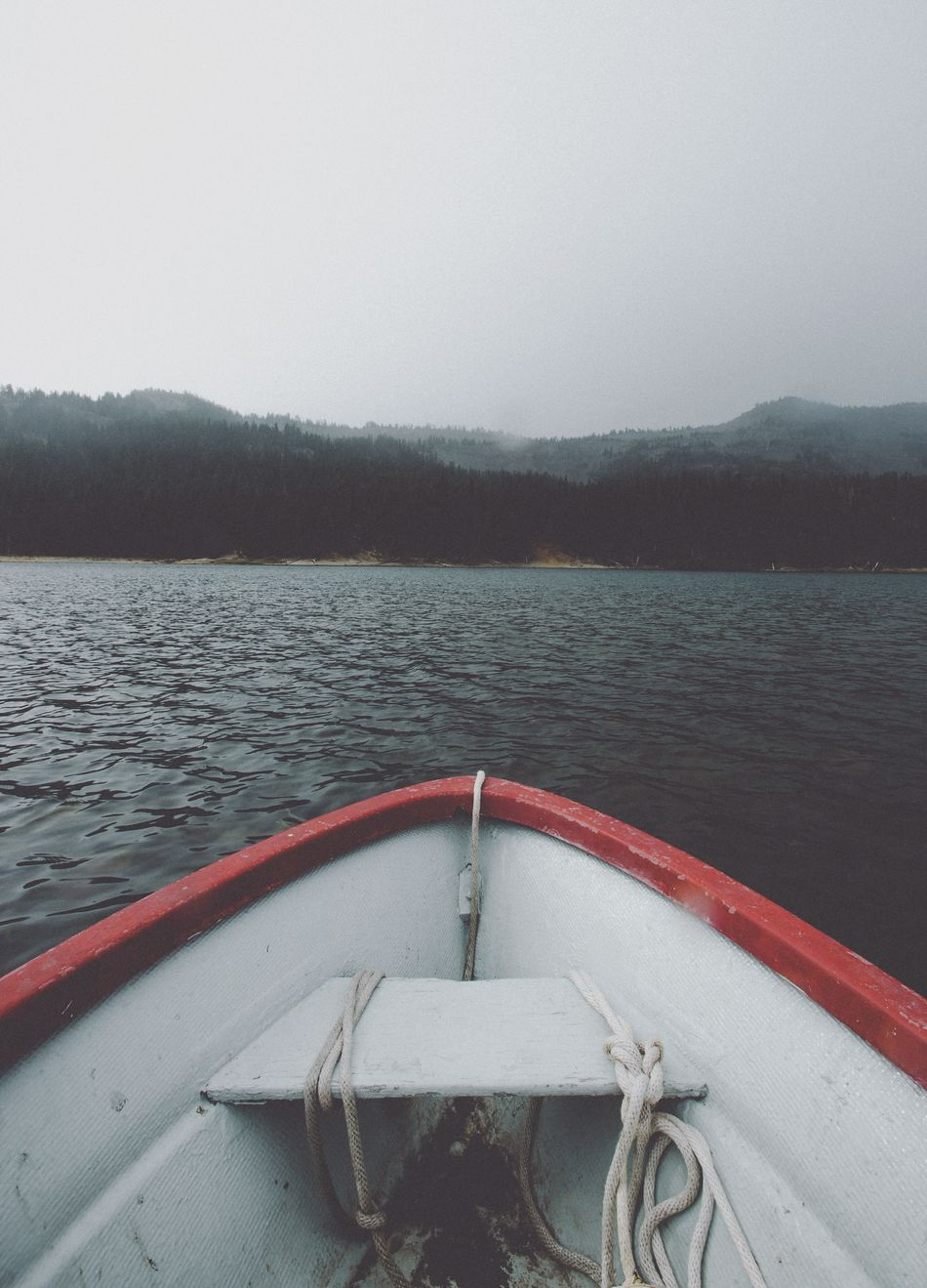 Wishing I could be back on this lake right now Water Nature Day Sky Nautical Vessel Beauty In Nature No People Outdoors Life Belt Pacific Northwest  Central Oregon Lake Canoe Kayak