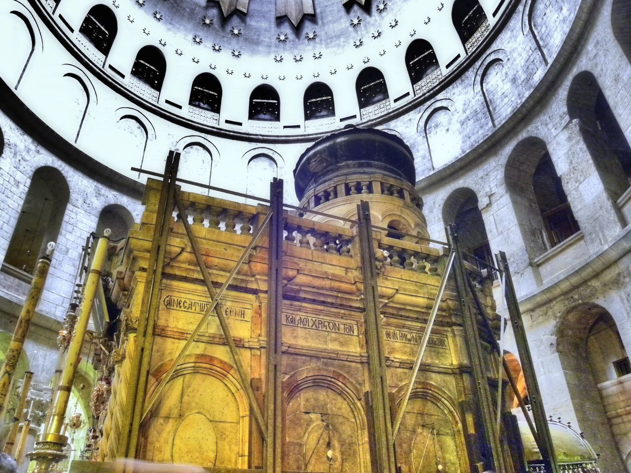 Bible Catholicism Christianity Church Of The Holy Sepulchre Grabeskirche Greek Orthodox Holy Church Holy Grave Israel Jerusalem Jesus