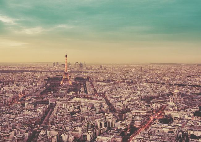 City of paris view