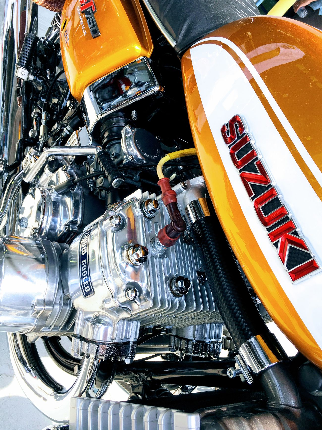 SUZUKI GT750 Motorcycle Japan