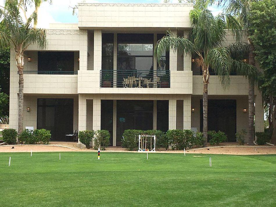 Arizona Waldorf Astoria Frank Lloyd Wright Resorts Croquet