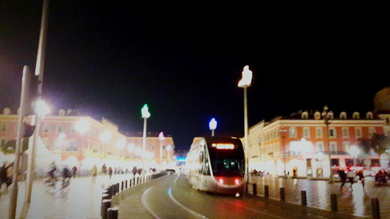 Illuminated Night Lighting Equipment Long Exposure No People Outdoors Light Place Macenas Macenas Tramway Luminosity