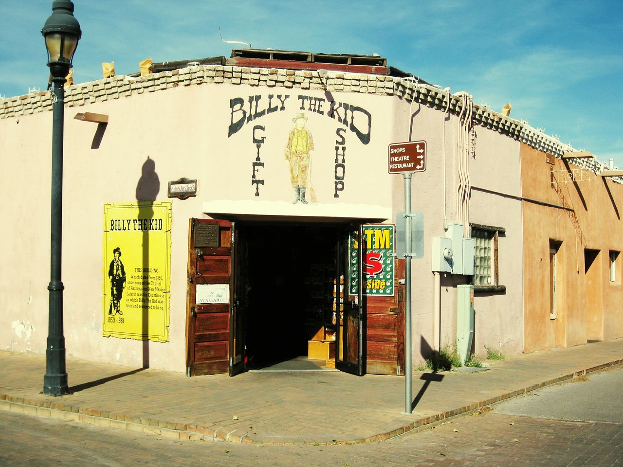 Billy The Kid Giftshop Las Cruces New Mexico Tourist_spot Tourist Attraction  Touristattraction One Of A Kind