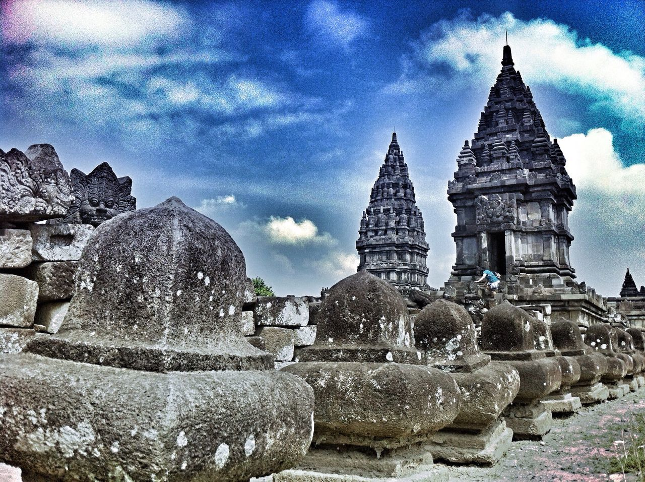architecture, religion, history, spirituality, sky, place of worship, built structure, building exterior, travel destinations, no people, ancient, day, ancient civilization, outdoors