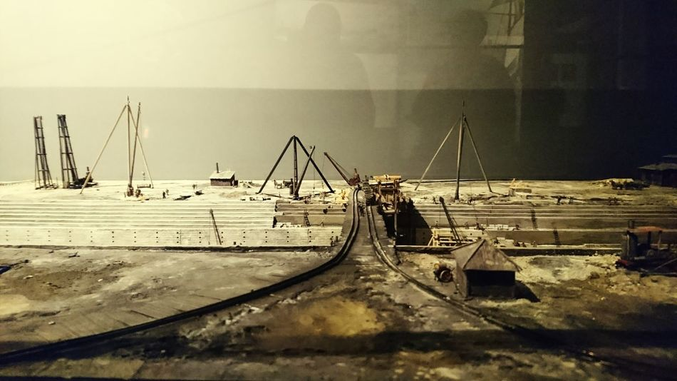 The Dockyard of Titanic past in miniature re-enactment! Docks Shipwreck Ship Building Layout Titanic Shipyard Shipbuilding Belfast
