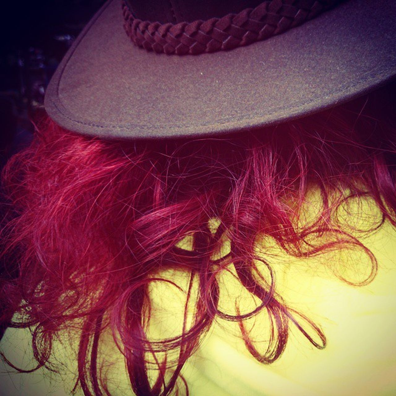 Red Hair under the Hat Picoftheday Followed Fashion Milan