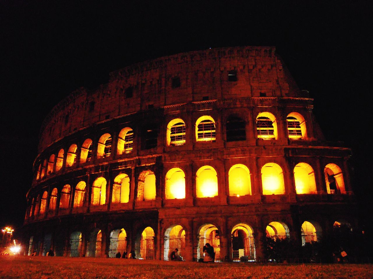 night, history, architecture, ancient, illuminated, the past, built structure, tourism, travel destinations, travel, old ruin, low angle view, arts culture and entertainment, arch, building exterior, ancient civilization, outdoors, no people, sky