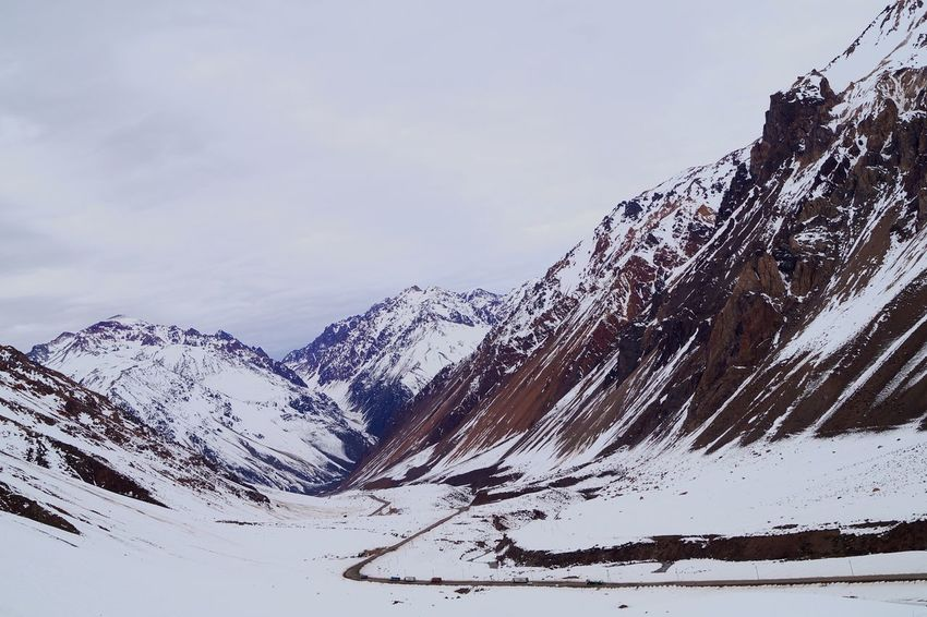 A beautiful view from Mendoza! Check This Out Mountains Snowscape Sony A58 Enjoying Life Exploring Beutiful Scene