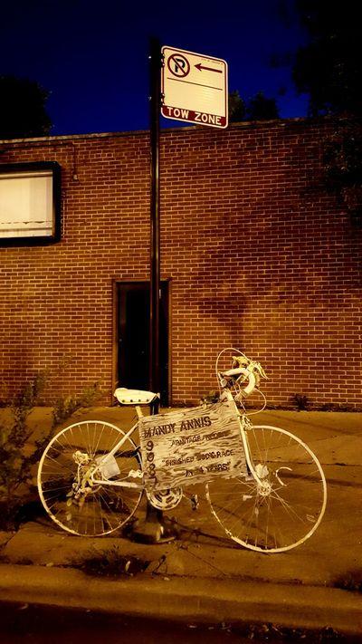 Ghost Bike Chicago
