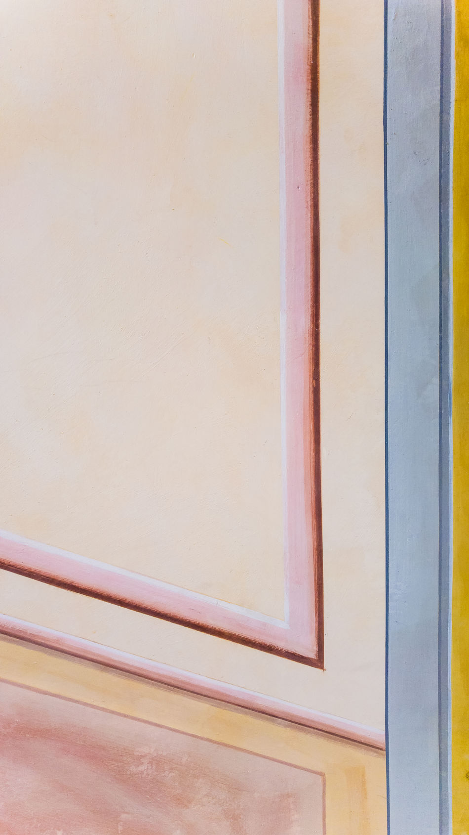 Detail of a fresco on a wall Angle Architecture Close-up Colors Copy Space Day Fresco Full Frame Geometric Shape Indoors  No People Painting Simmetry Wall