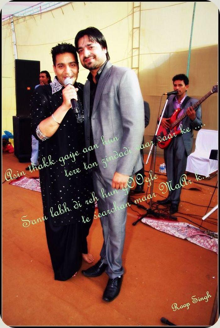 enjy my best buddy's marriage party with top most punjabi singer Kamal Heer