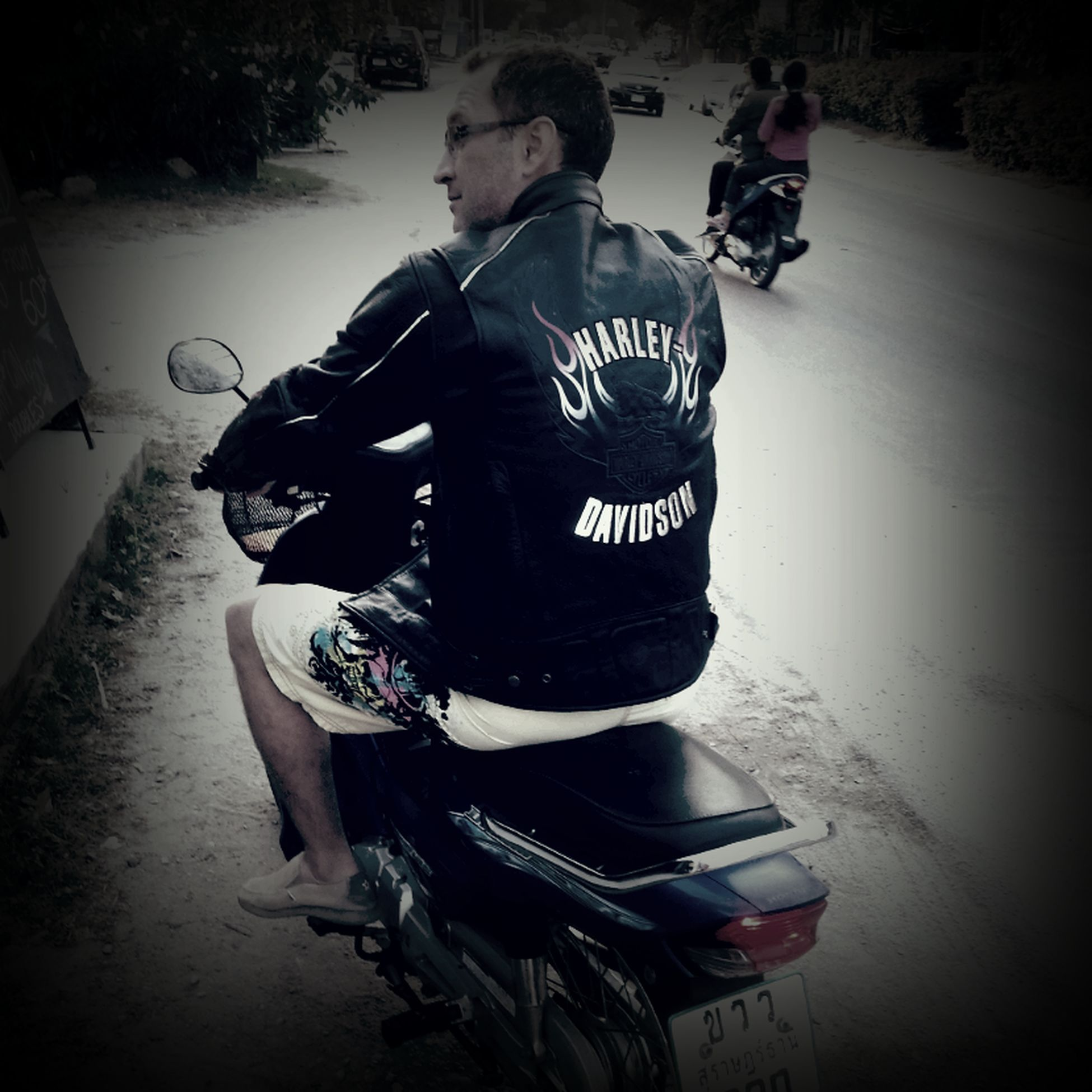 ... now only left to buy my ride ... Harley Davidson