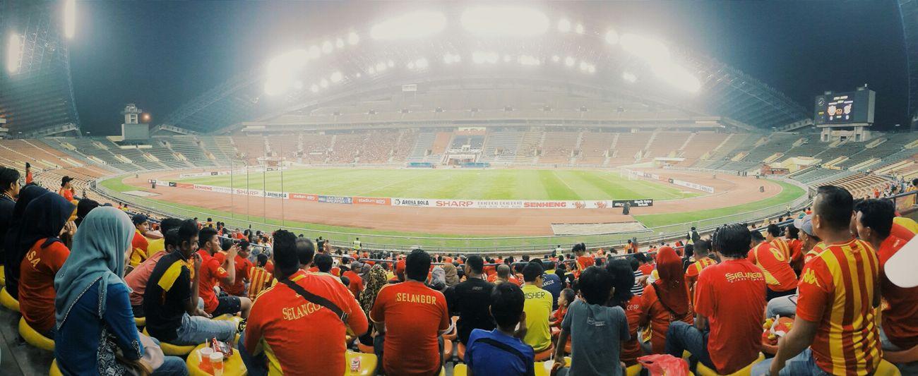 Selangor VS Kelantan Football Malaysia Football Fans