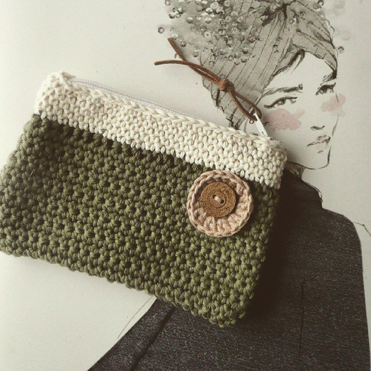Ganchillo Crochet Handmade Handmadewithlove Coinpurse Yarn Drops Cottonlight Hook Artesania