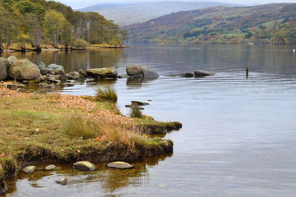 Loch Tay Reflection Water Lake Nature Tree Sky Outdoors Scenics Beauty In Nature Day No People Scotlandsbeauty Autumn🍁🍁🍁 Scotland Mountain Loch  Loch Tay Reflection Trees Wood