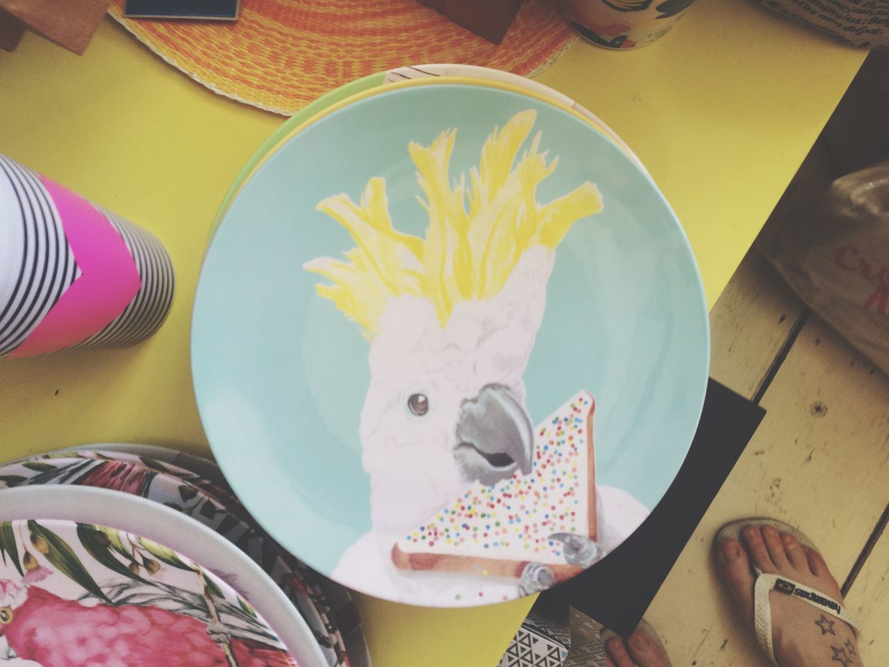 Dude Bird On A Plate