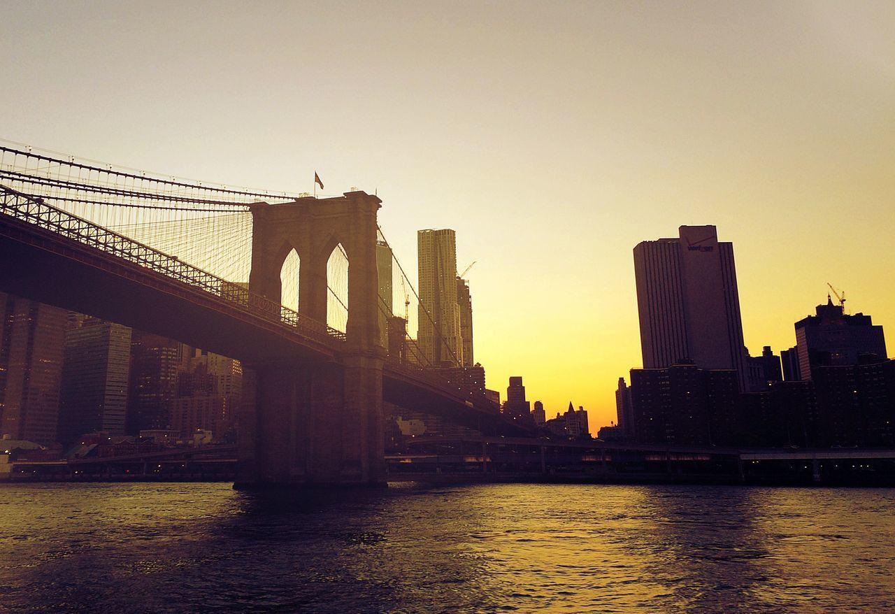 Brooklyn Bridge New York Brooklyn Bridge / New York Brooklyn Manhattan America USA United States Sunset EyeEm Gallery EyeEm Best Shots EyeEm Best Edits EyeEm City Cityscapes Cityscape Big Apple