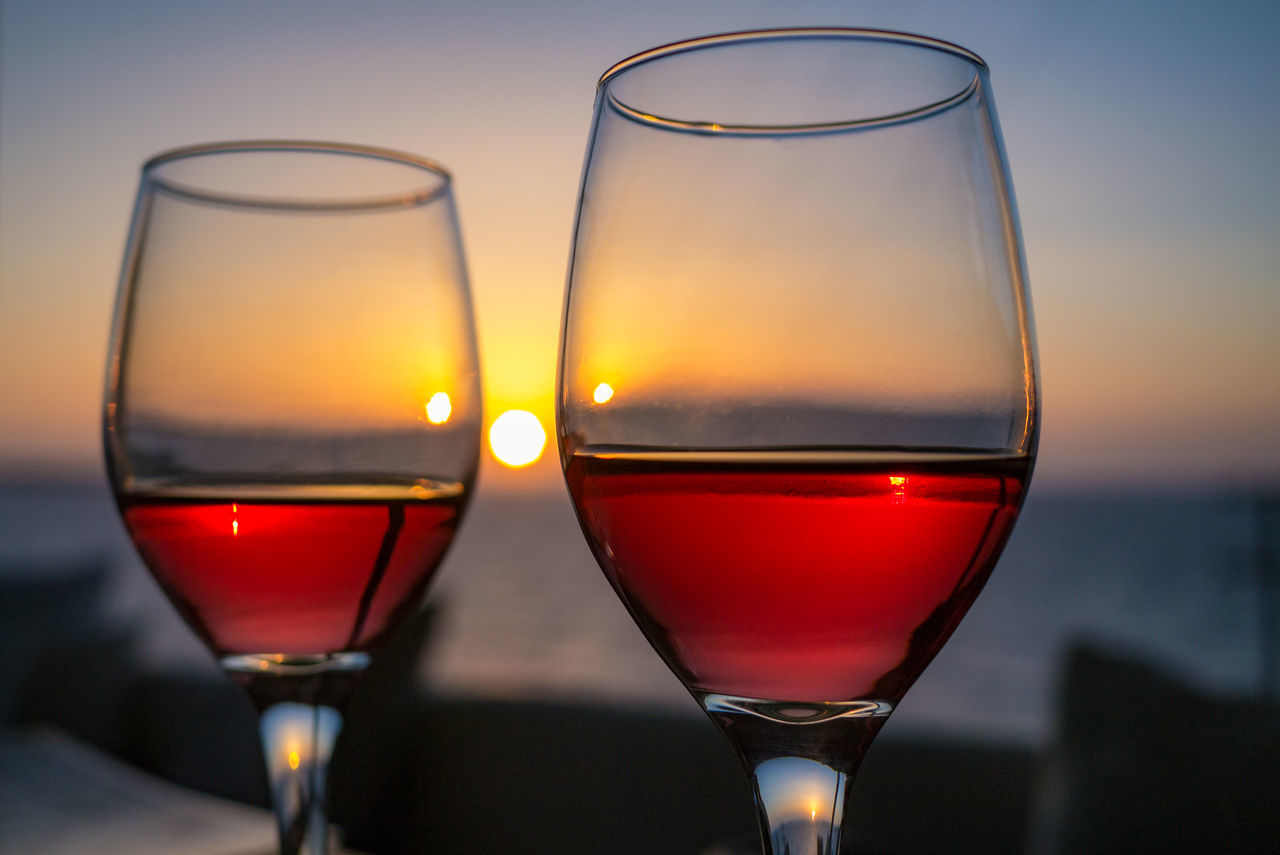 A good glas of wine should be shared. Preferably with the one you love. Alcohol Close-up Dinner For Two Drink Food And Drink Greece Katharos Lounge Love Mediteranean No People Romance Santorini Sunset Together Two Glasses Valentine's Day  Wine Wine Moments Wineglass Visual Feast Live For The Story