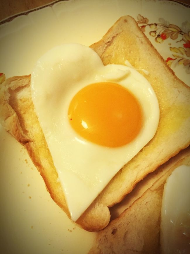 365project Day 37: The most macho eggs I've ever had cooked for me... 365project Day37 Eggs... Breakfast Heart