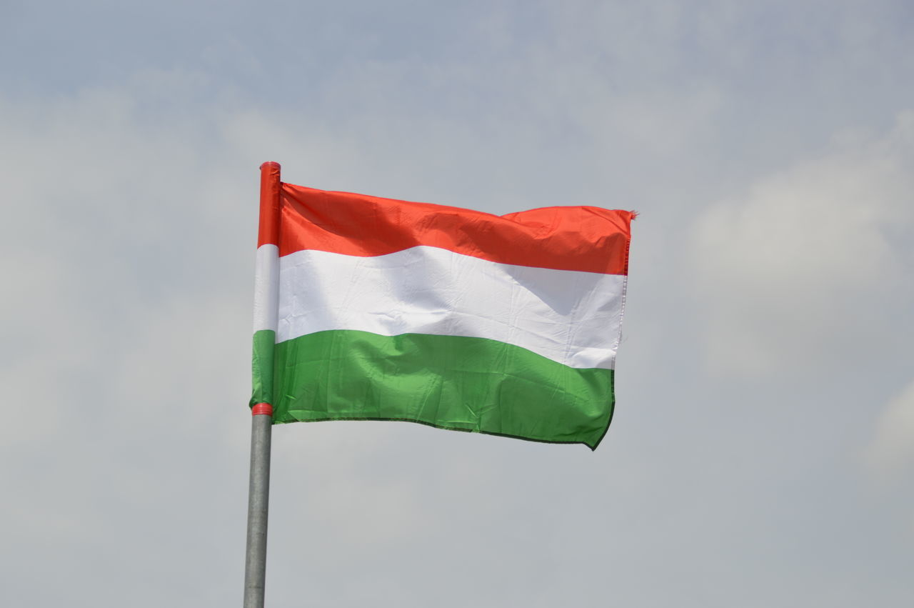 Beautiful stock photos of hungary, Day, Flag, Green Color, Hungarian Flag
