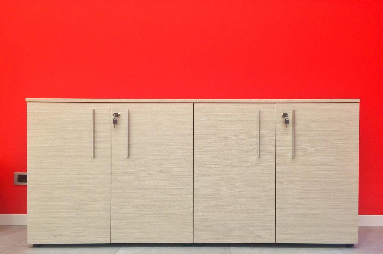 Office Interior Interior Design Design Colors Red Wood Closet