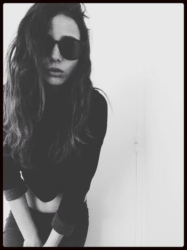 Street Fashion That's Me Selfportrait Black And White