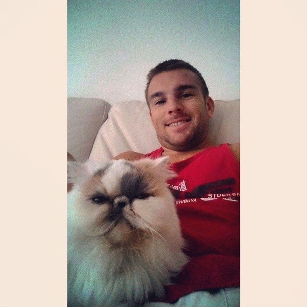 Say cheese Cats Catsofinstagram Nature Persians Persain Man Selfie ASIA