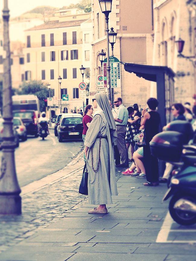Roma Italy Italia Italiangirl Nun Nuns Religion Religion Clothing Catholic Vatican VaticanCity Rome Romestreets Rome Italy
