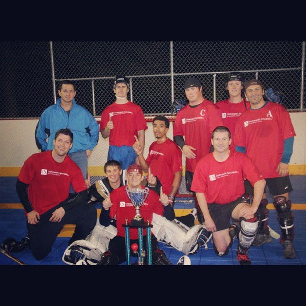 Dek Hockey domination starts tonight Qcdekhockey
