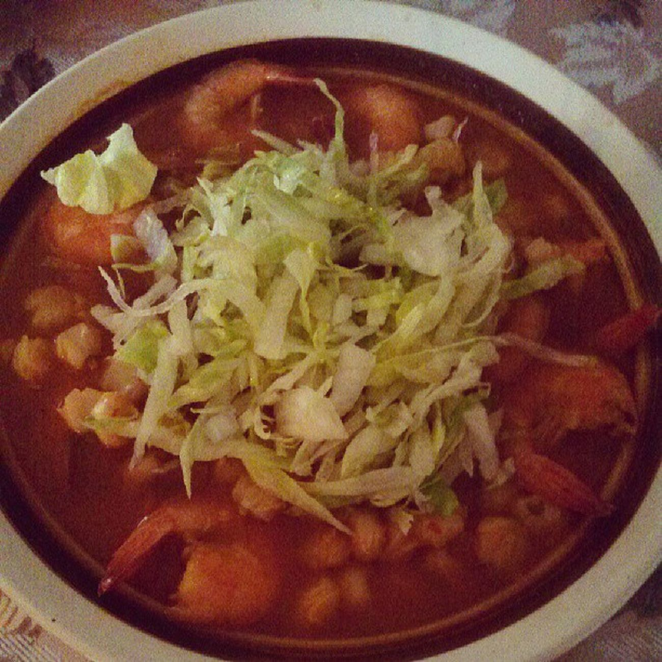 Best posole ever!!! Posoledecamaron