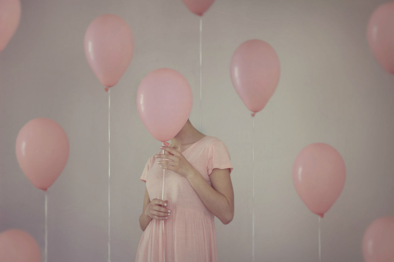 Balloon Bubble Wand Celebration Close-up Day Gray Background Hanging Helium Balloon Holding Human Hand Indoors  Mid-air One Person People Real People Standing Studio Shot Fresh On Market 2017