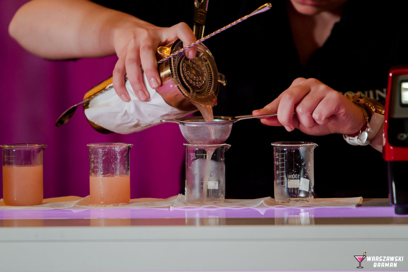 Bar - Drink Establishment Bartender Cocktail Cocktails Drinking Glass Human Hand Mixing Shaker Strainer Working