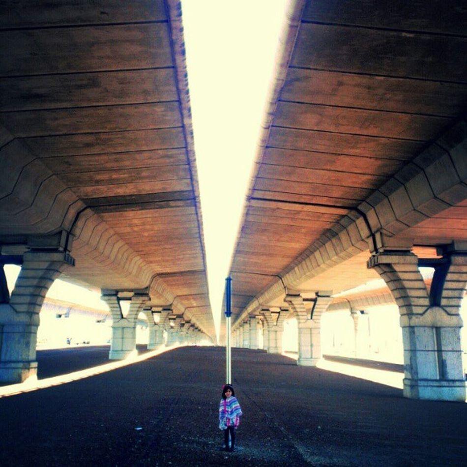 Impromptu Phontography shoot while walking under Overpasses Sunday morning walk
