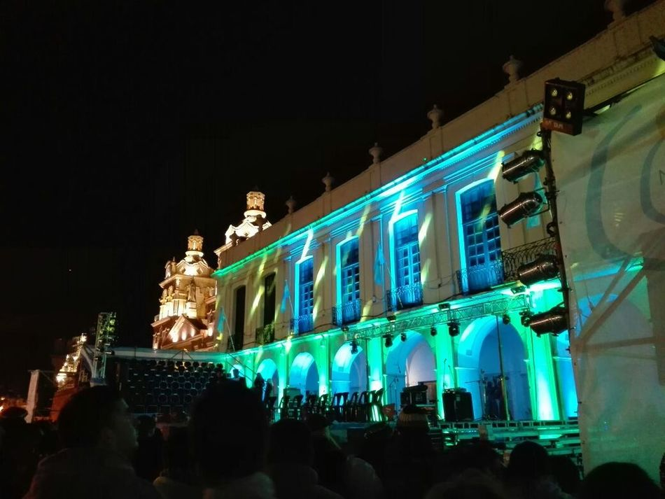Plazasanmartin Cabildo 25DeMayo Luces Fiestaspatrias Cordobaargentina