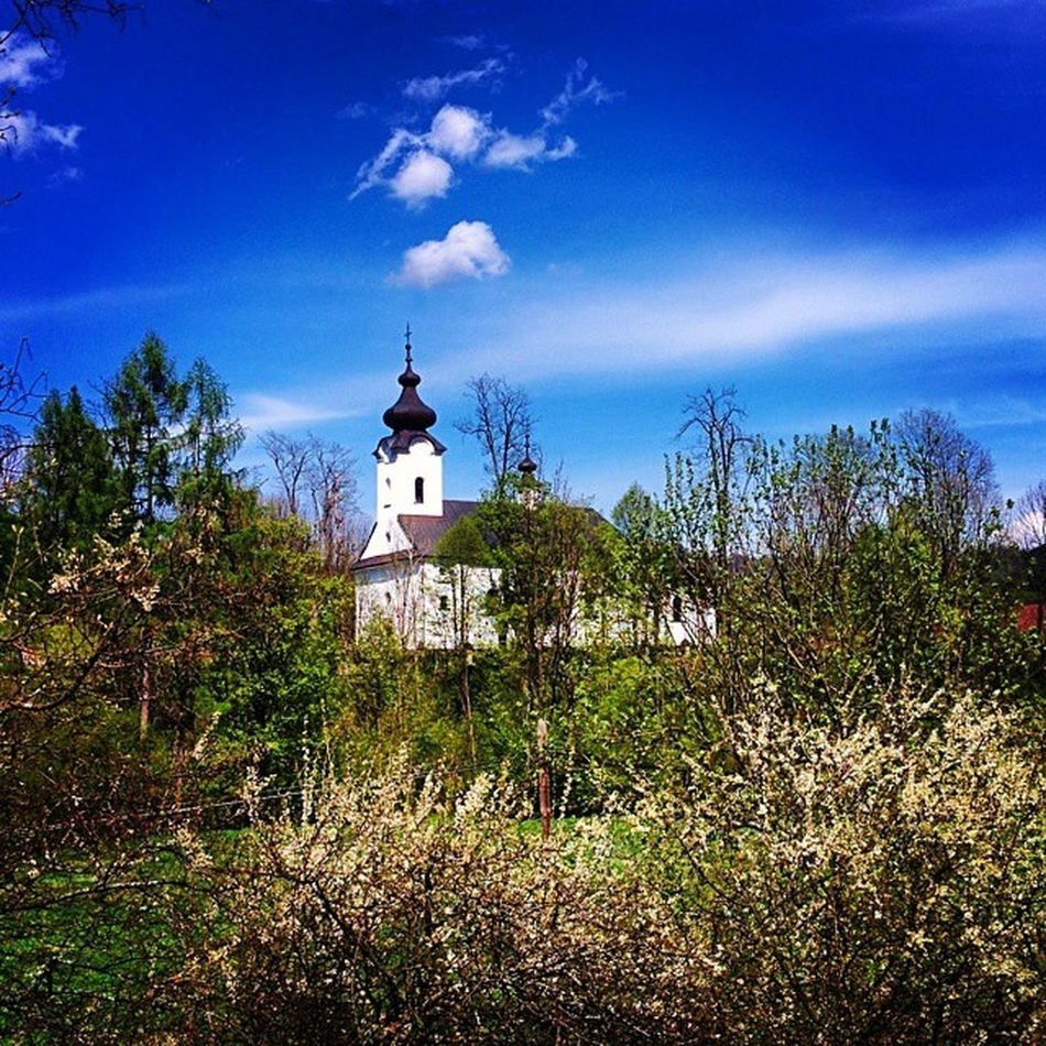 Simple White Church Poland Mountains Jaworki Architecture Nature Spring Nexus5
