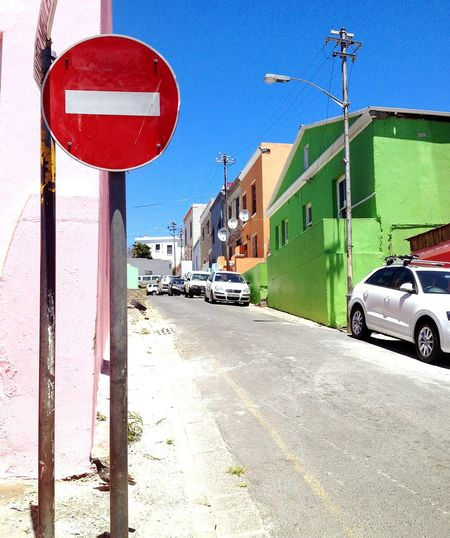 Road Architecture Clear Sky City Street Southafrica Built Structure City Travel Parking Red Blue City Life Day