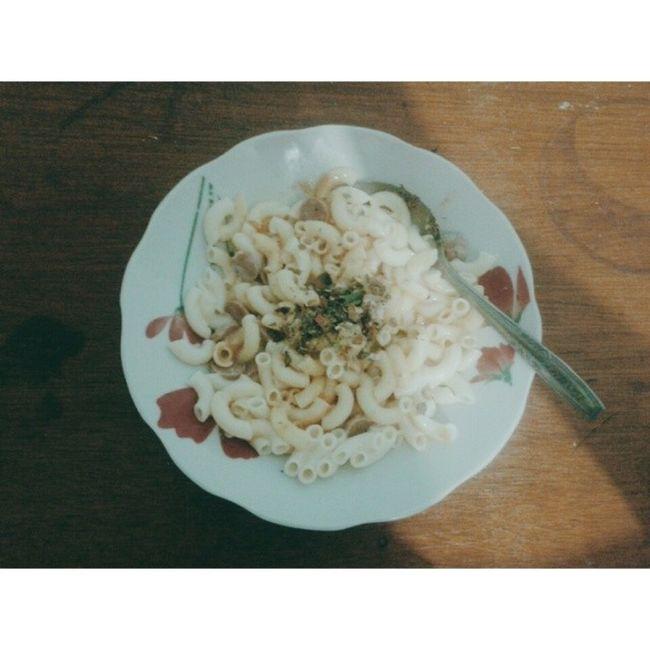 HappySaturday Ohmyfood Macaroni ChickenMushroom SosisSoNice