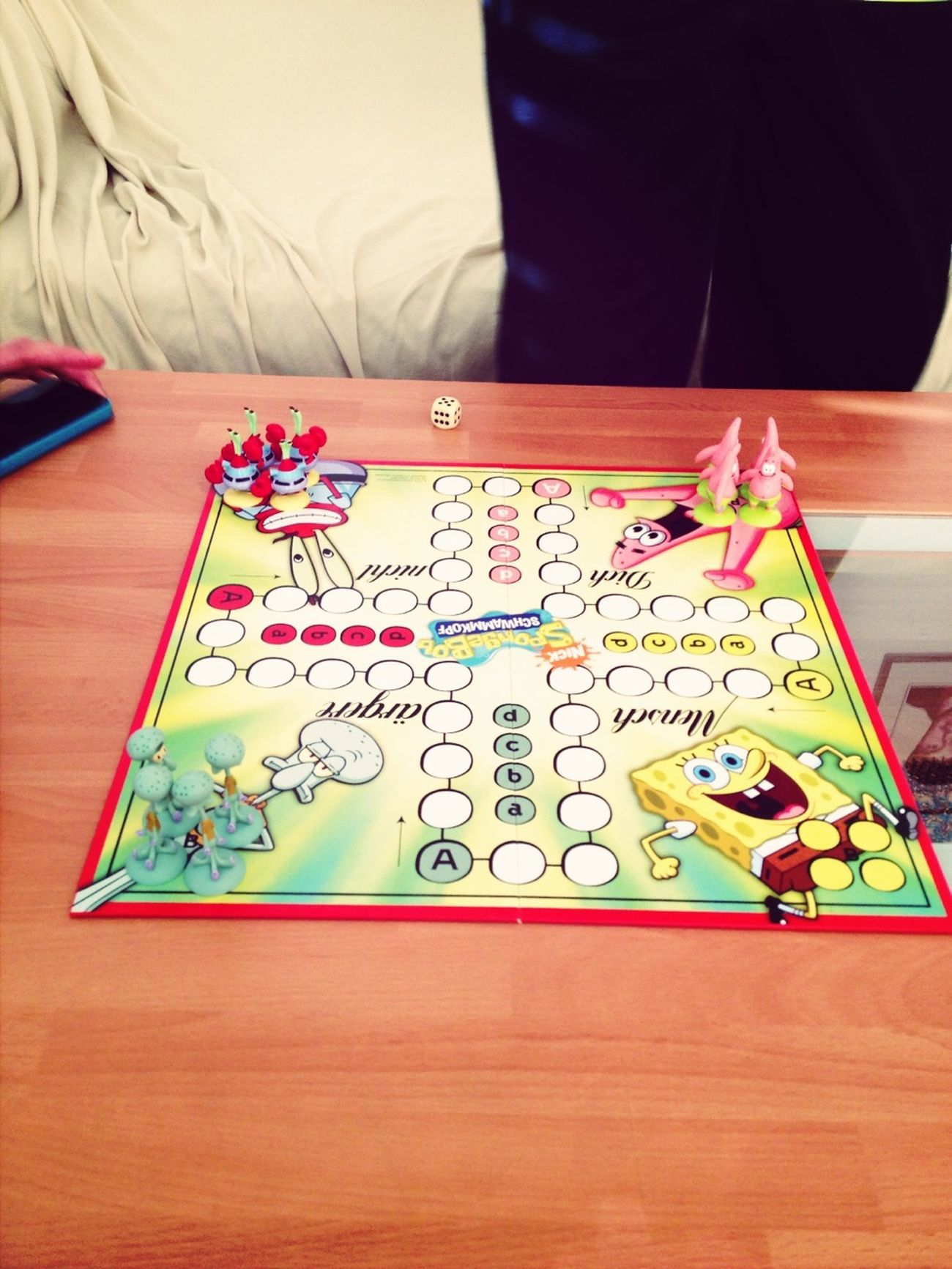 Playing with sister and brother☺