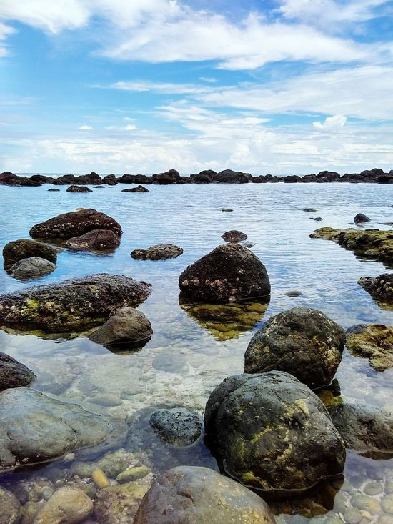 Pidakan Beach Water No People Outdoors Beach Cloud - Sky Day Sea Nature Sky Beauty In Nature Landscape_photography Landscape_captures Landscapes Landscape Photography Landscape Nature Photography Landscape Dreamscapes Bluesea Blue Water Blue Sky Stone Beach Stones On The Beach Stones In The Water